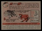 1958 Topps #410  Murray Wall  Back Thumbnail