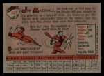 1958 Topps #441  Jim Marshall  Back Thumbnail