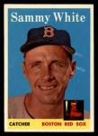 1958 Topps #414  Sammy White  Front Thumbnail