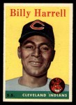 1958 Topps #443  Billy Harrell  Front Thumbnail