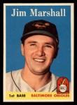 1958 Topps #441  Jim Marshall  Front Thumbnail