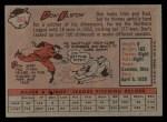 1958 Topps #363  Don Elston  Back Thumbnail
