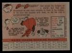 1958 Topps #401  Don Bessent  Back Thumbnail