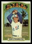 1972 Topps #631  John Strohmayer  Front Thumbnail