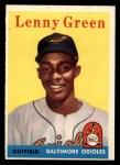 1958 Topps #471  Lenny Green  Front Thumbnail