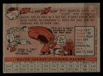 1958 Topps #395  Willard Nixon  Back Thumbnail