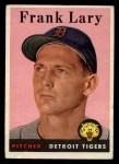 1958 Topps #245  Frank Lary  Front Thumbnail