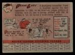 1958 Topps #245  Frank Lary  Back Thumbnail