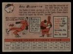 1958 Topps #10  Lew Burdette  Back Thumbnail