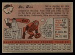1958 Topps #51  Del Rice  Back Thumbnail