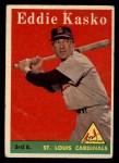 1958 Topps #8 ^WN^ Eddie Kasko  Front Thumbnail