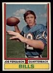 1974 Topps #512  Joe Ferguson  Front Thumbnail