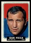 1964 Topps #112  Dan Ficca  Front Thumbnail