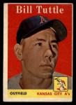 1958 Topps #23 ^WN^ Bill Tuttle  Front Thumbnail