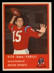 1963 Fleer #2  Babe Parilli  Front Thumbnail
