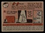 1958 Topps #14  Rip Repulski  Back Thumbnail