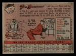 1958 Topps #127  Tom Sturdivant  Back Thumbnail