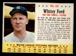 1963 Post #19  Whitey Ford  Front Thumbnail