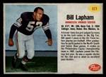 1962 Post #177  Bill Lapham  Front Thumbnail