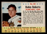 1963 Post Cereal #66  Robin Roberts  Front Thumbnail