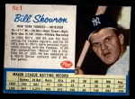 1962 Post #1  Bill Skowron   Front Thumbnail