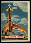 1957 Topps Space Cards #6   Three Stage Rocket Front Thumbnail