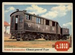 1955 Topps Rails & Sails #39   Climax-Geared Locomotive Front Thumbnail
