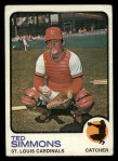 1973 Topps #85  Ted Simmons  Front Thumbnail