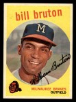 1959 Topps #165  Billy Bruton  Front Thumbnail