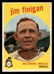 1959 Topps #47  Jim Finigan  Front Thumbnail