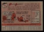 1958 Topps #369  Ralph Lumenti  Back Thumbnail