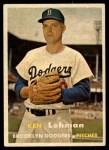 1957 Topps #366  Ken Lehman  Front Thumbnail