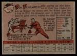 1958 Topps #469  Don Ferrarese  Back Thumbnail