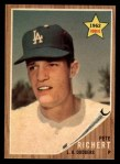 1962 Topps #131 GRN Pete Richert  Front Thumbnail
