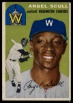 1954 Topps #204  Angel Scull  Front Thumbnail