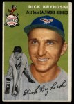 1954 Topps #150  Dick Kryhoski  Front Thumbnail