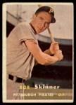 1957 Topps #209  Bob Skinner  Front Thumbnail