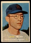 1957 Topps #403  Dick Hyde  Front Thumbnail