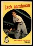 1959 Topps #475  Jack Harshman  Front Thumbnail