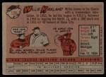1958 Topps #128  Willie Kirkland  Back Thumbnail