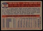 1957 Topps #38  Nellie Fox  Back Thumbnail