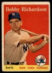 1958 Topps #101 ^WN^ Bobby Richardson  Front Thumbnail