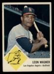 1963 Fleer #21  Leon Wagner  Front Thumbnail