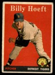 1958 Topps #13 ^WN^ Billy Hoeft  Front Thumbnail