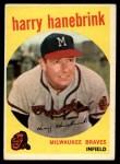 1959 Topps #322 ^TR^ Harry Hanebrink  Front Thumbnail