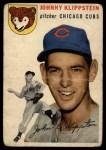 1954 Topps #31  Johnny Klippstein  Front Thumbnail