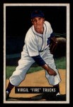 1951 Bowman #104  Virgil Trucks  Front Thumbnail