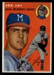 1954 Topps #141  Joey Jay  Front Thumbnail