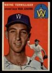 1954 Topps #73  Wayne Terwilliger  Front Thumbnail