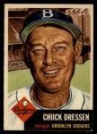 1953 Topps #50  Chuck Dressen  Front Thumbnail